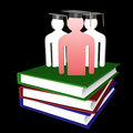 Free Education And Graduation Icon Royalty Free Stock Images - 14089049