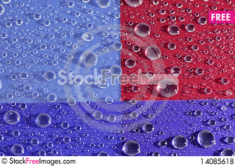 Free Pattern In Drop Of Water Royalty Free Stock Photos - 14085618