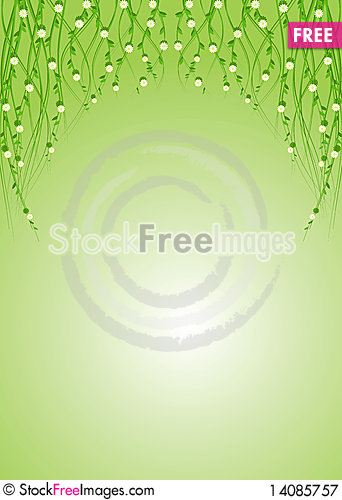 Free Flowers Background Royalty Free Stock Photography - 14085757