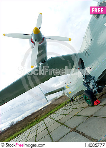 Free Wing Of Military Plane Royalty Free Stock Photography - 14085777