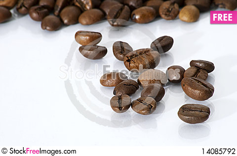 Free Coffee Beans Stock Photography - 14085792