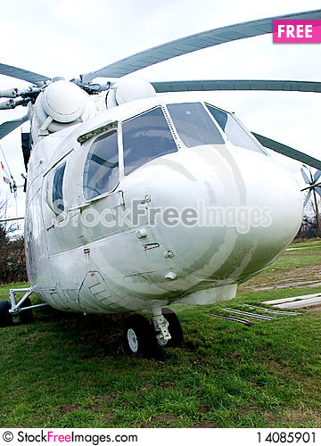Free Old Helicopter Stock Image - 14085901