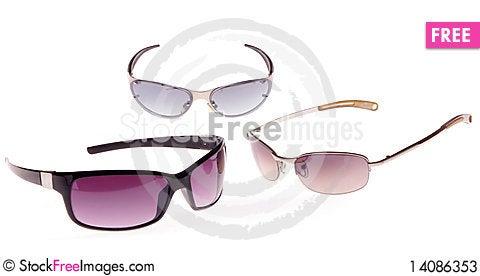Free Three Sunglasses Stock Photos - 14086353