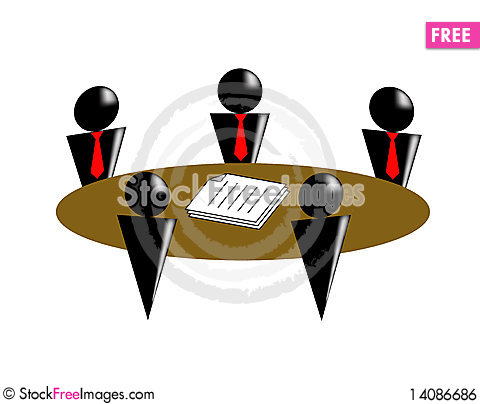 Free Conference Royalty Free Stock Image - 14086686
