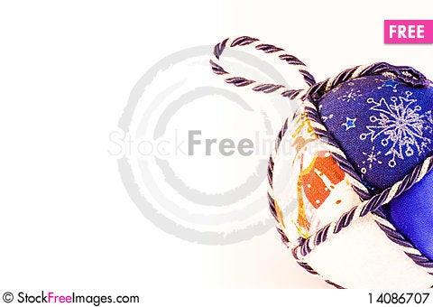 Free Handmade Christmas Balls Royalty Free Stock Photography - 14086707