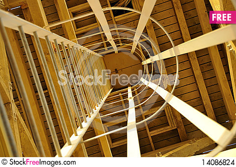Free Caged Ladder To Water Tank Stock Images - 14086824