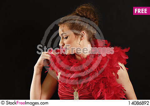 Free Portrait Of The Woman Stock Photography - 14086892
