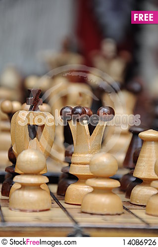 Free Chess Pieces Royalty Free Stock Image - 14086926