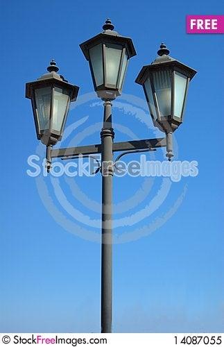 Free Street Lantern Royalty Free Stock Photo - 14087055