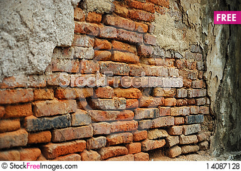 Free Temple Wall Royalty Free Stock Photos - 14087128