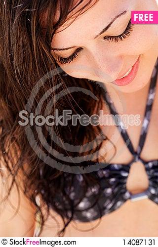 Free Close Girl Portrait Stock Image - 14087131