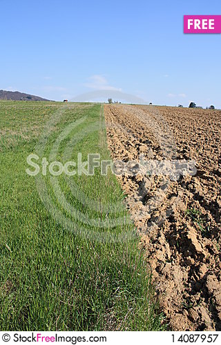 Free Tillage And Meadow Royalty Free Stock Photography - 14087957