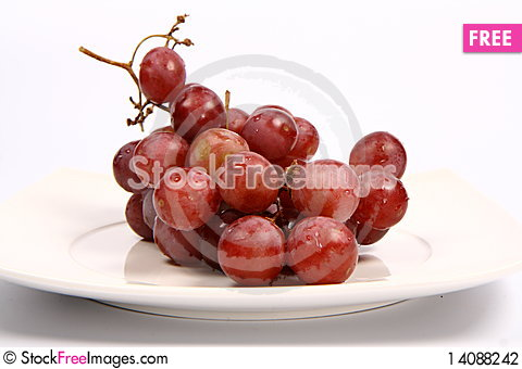 Free Red Grapes Stock Photography - 14088242