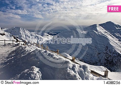 Free Mountain From Refuge Royalty Free Stock Image - 14088256