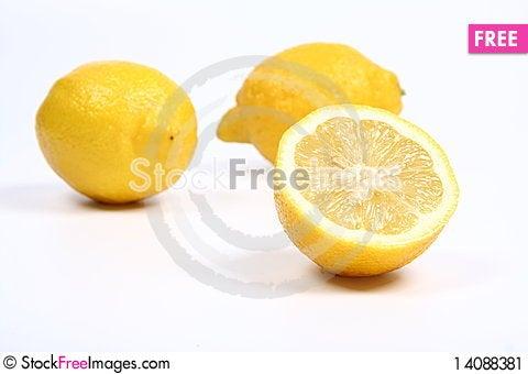 Free Two And A Half Lemons Stock Image - 14088381