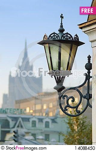 Free Wall Mount Street Lamp Stock Photo - 14088450