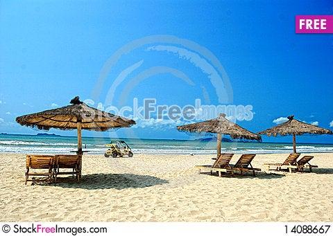 Free Beach Royalty Free Stock Photography - 14088667