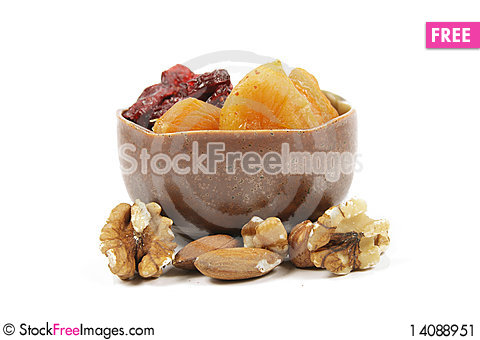 Free Apricots And Nuts Stock Image - 14088951