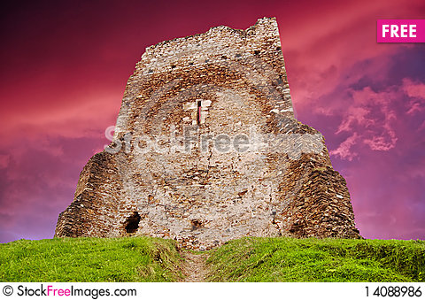 Free Medieval Ruins Royalty Free Stock Image - 14088986