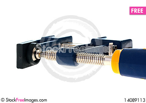 Free U-type Screw Clamp Stock Photos - 14089113