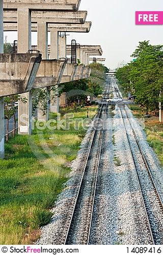 Free Railway Royalty Free Stock Image - 14089416