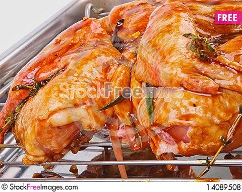 Free Marinated Chicken Royalty Free Stock Photos - 14089508
