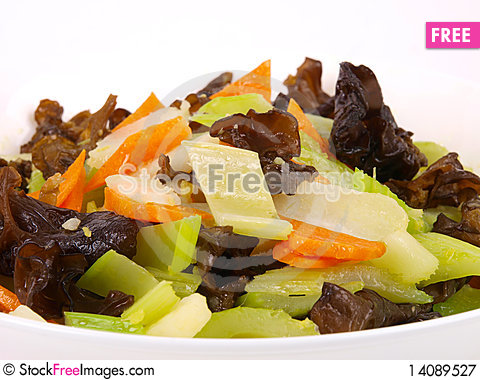 Free Freid Vegetables Royalty Free Stock Photography - 14089527