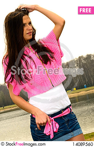 Free Young Attractive Woman Stock Photo - 14089560