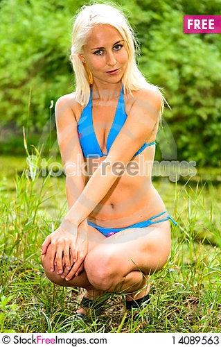 Free Girl In Bikini Stock Photos - 14089563