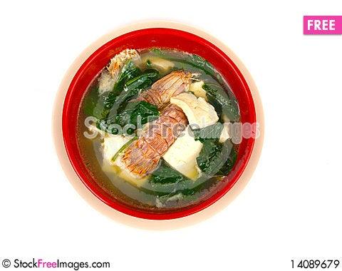 Free Langoustine Soup Royalty Free Stock Images - 14089679