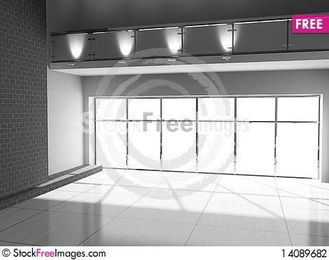 Free Empty Interior Stock Photography - 14089682