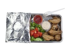Free Set Of Takeaway Food Stock Photos - 14080193