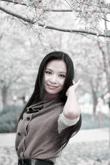 Free Spring Portrait Royalty Free Stock Photos - 14080258