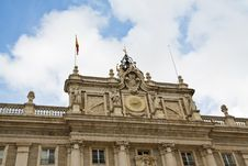 Free Palace Real Of Madrid Stock Images - 14080314