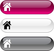 Free Home Button. Stock Images - 14080364