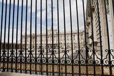 Free Real Palace Of Madrid Royalty Free Stock Image - 14080596