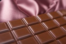 Free Chocolate And Silk Stock Images - 14080884