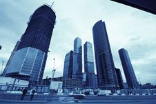 Free Financial District Stock Image - 14081581