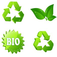 Free Eco Signs Stock Images - 14081804