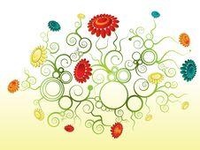Free Flower Wallpaper Royalty Free Stock Image - 14082636