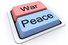 Peace And War Stock Images