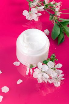 Free Moisturizing Facial Cream. Royalty Free Stock Photos - 14083338