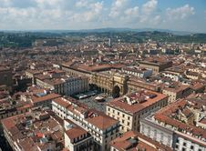 The Panoramic Sight Of Florence Royalty Free Stock Images