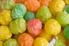 Colourful Snack Ball Stock Photos