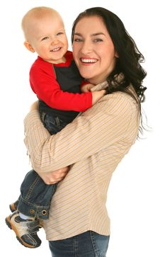 Free Happy Mother With Little Son Royalty Free Stock Photo - 14084845
