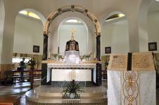 Free Interior Of The Catholic Church Royalty Free Stock Photos - 14085078