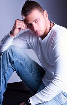 Free Fashion Shot Of A Young Man Stock Photos - 14085143