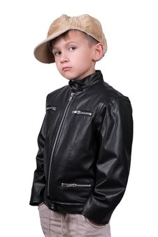 Free Boy In Cap Stock Photography - 14085392