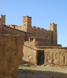 Free Moroccan Kasbah Royalty Free Stock Image - 14085486