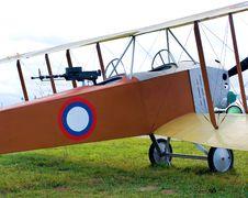 Free Old Biplane Royalty Free Stock Image - 14085746